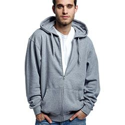Hooded Zip Sweat 350g Thumbnail