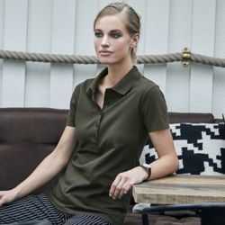 TeeJays Luxury Stretch Polo Ladies Thumbnail