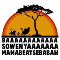 LION KING- BAAARHHH Design