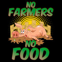 No Farmers, No Food (Gris) Design