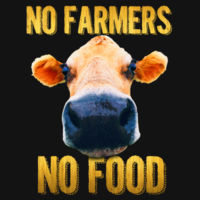 No Farmers, No Food (KO) Design