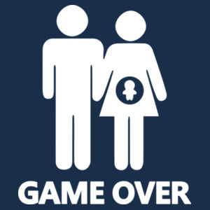 GAME OVER DAD Design